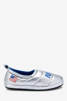 Next NASA Closed Back Slippers - 272286