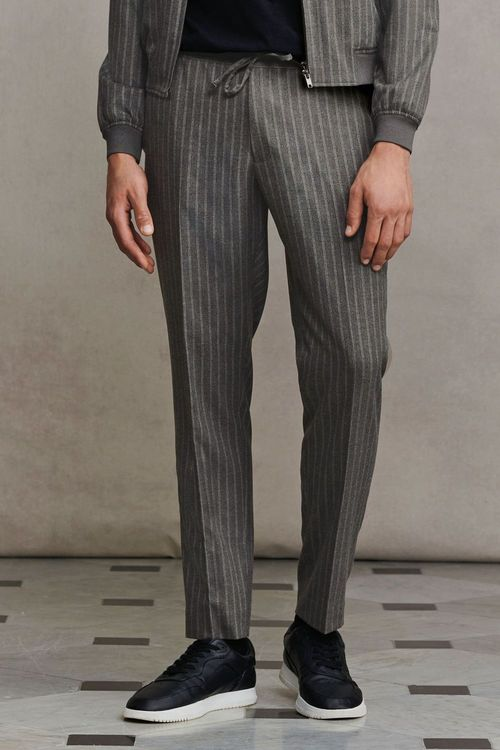 Next Striped Formal Joggers