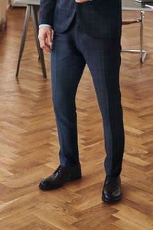 Next Check Suit: Trousers - 272296