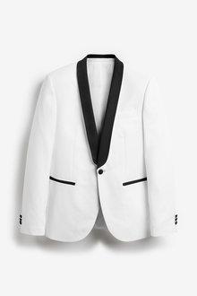 Next Slim Fit Tuxedo Suit: Jacket - 272309