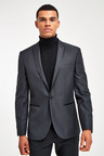 Next Slim Fit Tuxedo Suit: Jacket