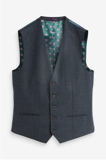 Next Signature Puppytooth Slim Fit Suit-Waistcoat - 272373
