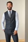 Next Signature Puppytooth Slim Fit Suit-Waistcoat