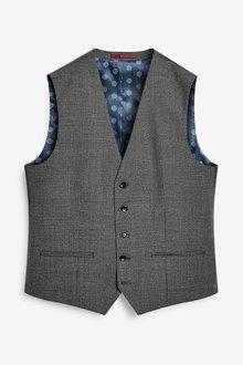 Next Empire Mills Signature Puppytooth Suit: Waistcoat - 272394