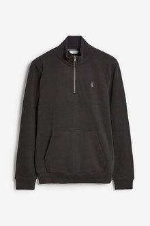 Next Jersey-Zip Neck Sweatshirt - 272490