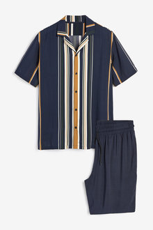 Next Stripe Pyjama Set - 272556