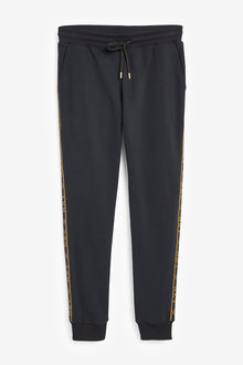 Next Gold Taped Cuffed Joggers - 272584