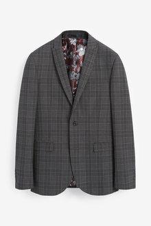 Next Check Suit: Jacket - 272626