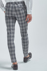 Next Check Suit: Trousers-Super Skinny Fit