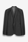Next Textured Suit: Jacket-Slim Fit