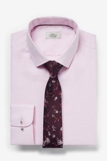 Next Cotton Shirt And Tie Set - 272673