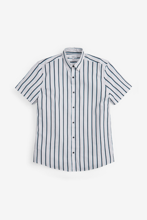 Next Short Sleeve Stripe Shirt