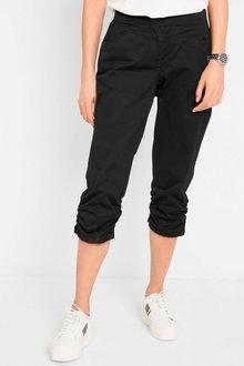 Urban Rouched Hem Pull on Pants - 272806