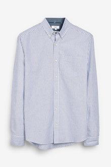 Next Stripe Oxford Long Sleeve Shirt - 272810