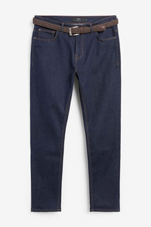 Next Belted Jeans With Stretch - 272815