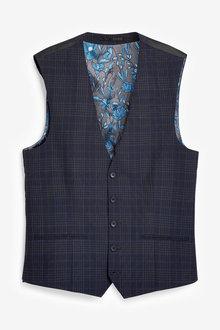 Next Check Suit: Waistcoat - 272871