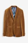 Next Velvet Jacket-Slim Fit