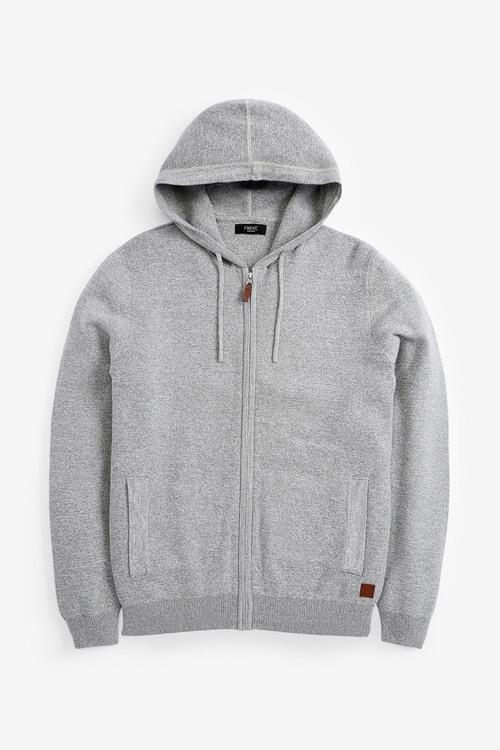 Next Premium Knitted Hoody