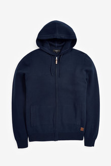 Next Premium Knitted Hoody - 272975