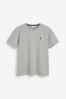 Next Crew Neck Regular Fit Stag T-Shirts Five Pack-Tall