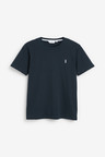 Next Crew Neck Regular Fit Stag T-Shirts Five Pack-Regular
