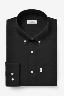 Next Easy Iron Button Down Oxford Shirt-Slim Fit Single Cuff - 273161