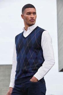 Next Long Sleeve Oxford Shirt-Tall - 273260