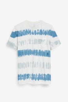 Next Tie Dye Stripe Slim Fit T-Shirt - 273332