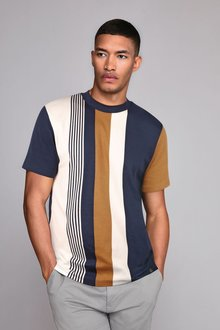 Next Vertical Stripe T-Shirt - 273333