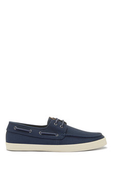 Next Canvas Stag Boat Shoes - 273454