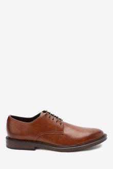 Next Contrast Sole Derby Shoes - 273472