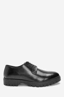 Next High Shine Cleated Sole Derby Shoes - 273475
