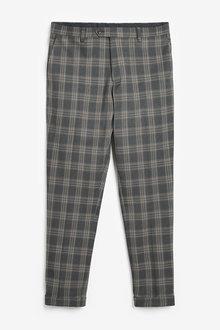 Next Slim Fit Check Suit: Trousers - 273504