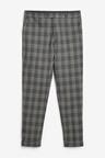 Next Slim Fit Check Suit: Trousers