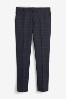 Next Signature Check Slim Fit Suit-Trousers - 273517