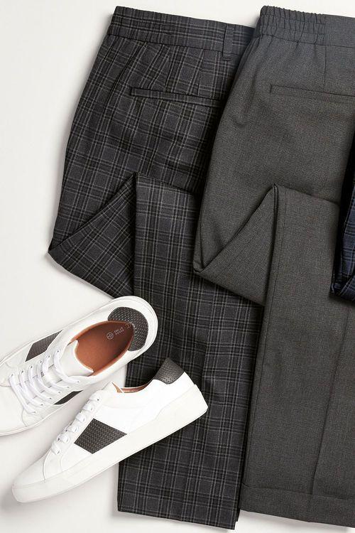Next Motionflex Check Trousers
