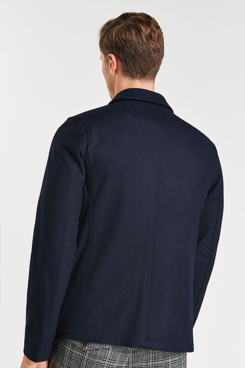 Next Wool Blend Worker Jacket