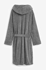 Next Super Soft Hooded Dressing Gown-Tall