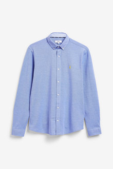 Next Long Sleeve Pique Shirt - 273621