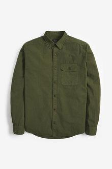 Next Ripstop Overdye Regular Fit Shirt - 273622