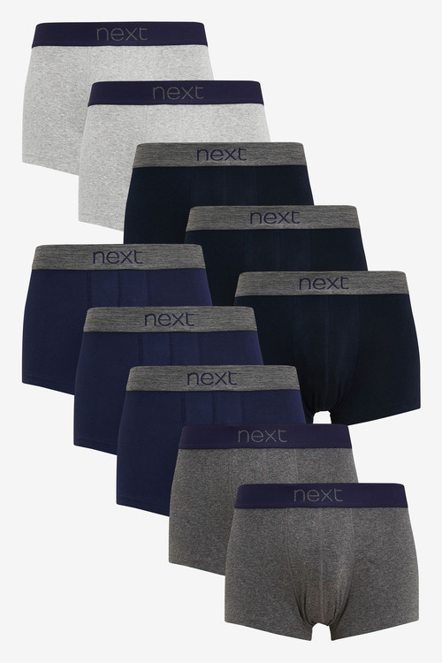 Next Hipsters Pure Cotton Ten Pack