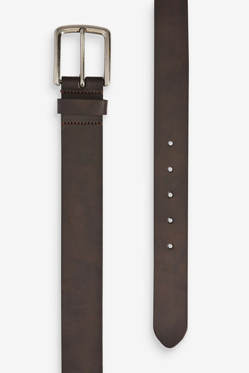 Next Recycled Leather Fibre Belt