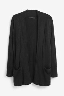 Next Cosy Pocket Cardigan-Regular - 273861