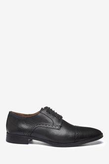 Next Leather Toe Cap Shoes - 273868