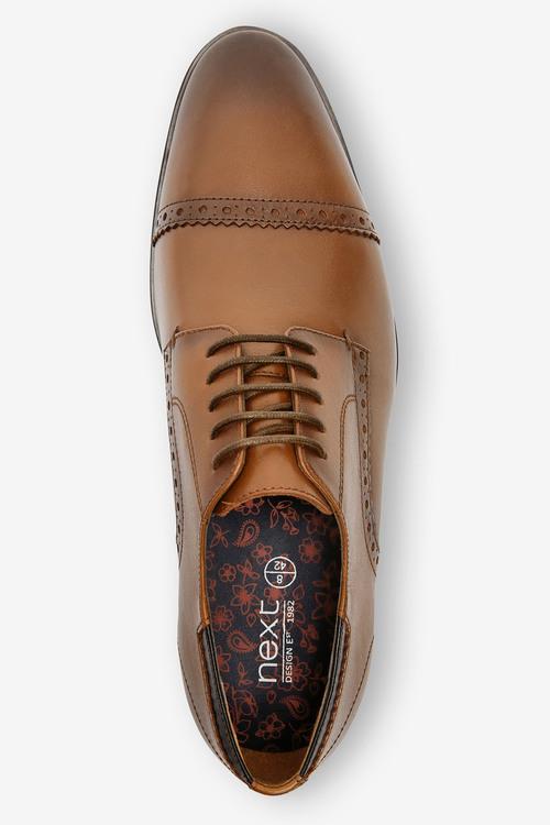 Next Leather Toe Cap Shoes