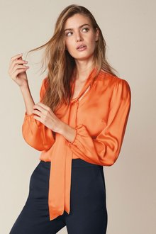 Next Tie Neck Blouse - 273905