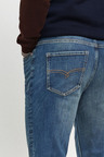 Next Belted Jeans With Stretch-Bootcut Fit