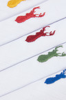 Next Stag Embroidered Five Pack Handkerchiefs