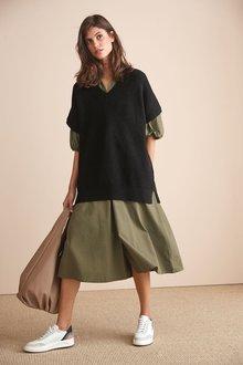 Next Cotton Shirt Dress-Regular - 273967