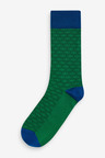 Next Geo Pattern Socks Five Pack